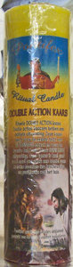 Double action kaars